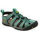 Keen Clearwater CNX Leather Sandalen Dames turquoise